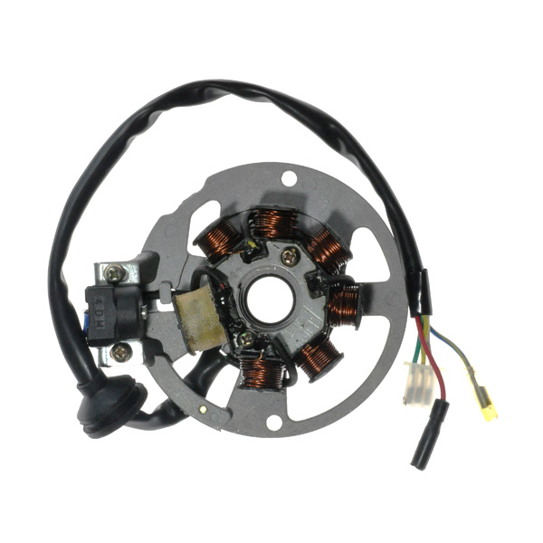 yamaha stator wiring 7 coil magneto stator with 3 2 wiring connector for 1pe40qmb  7 coil magneto stator with 3 2 wiring