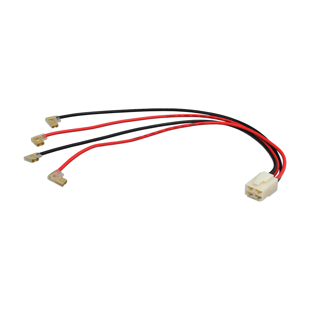 4-pin, 4-wire battery wiring harness for razor scooters
