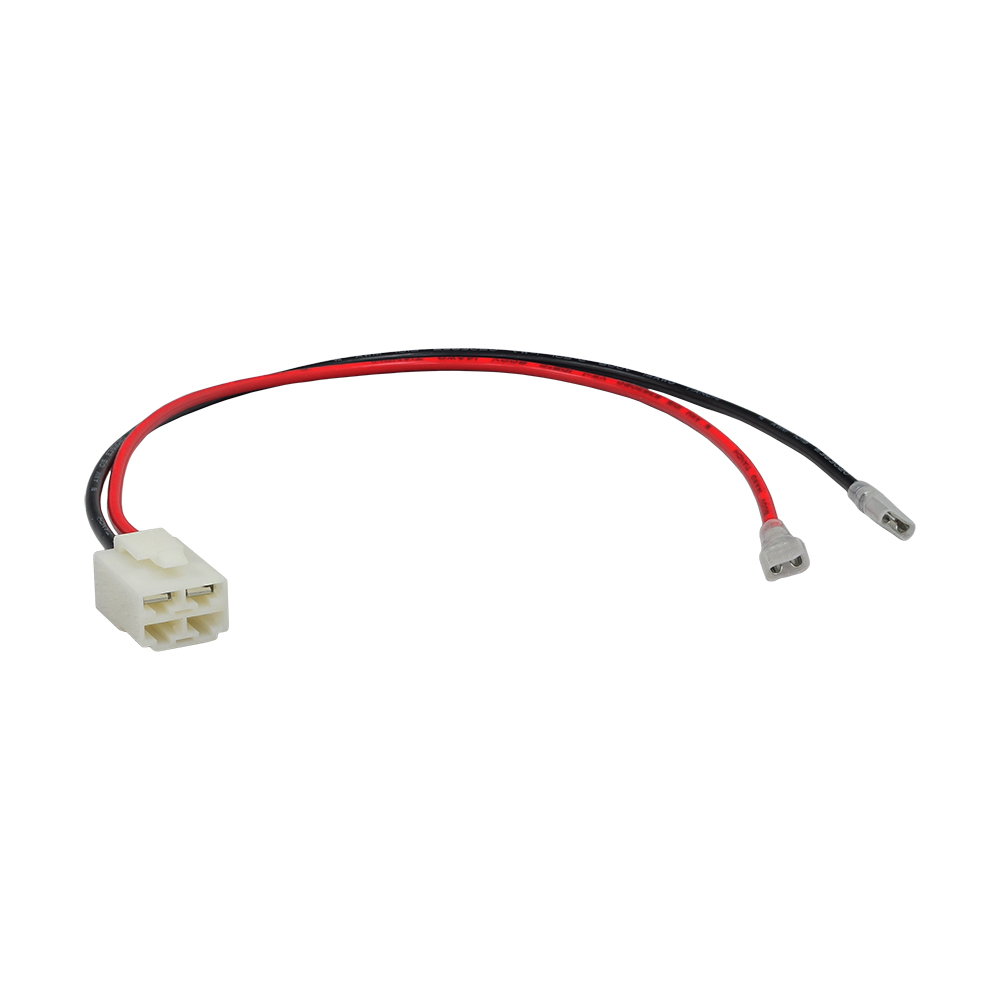 4-pin, 2-wire battery wiring harness for razor scooters