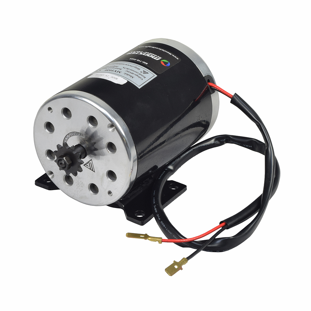 48 Volt 1000 Watt MY1020 Electric Motor with 11 Tooth 8 mm 05T Chain Sprocket and Bracket