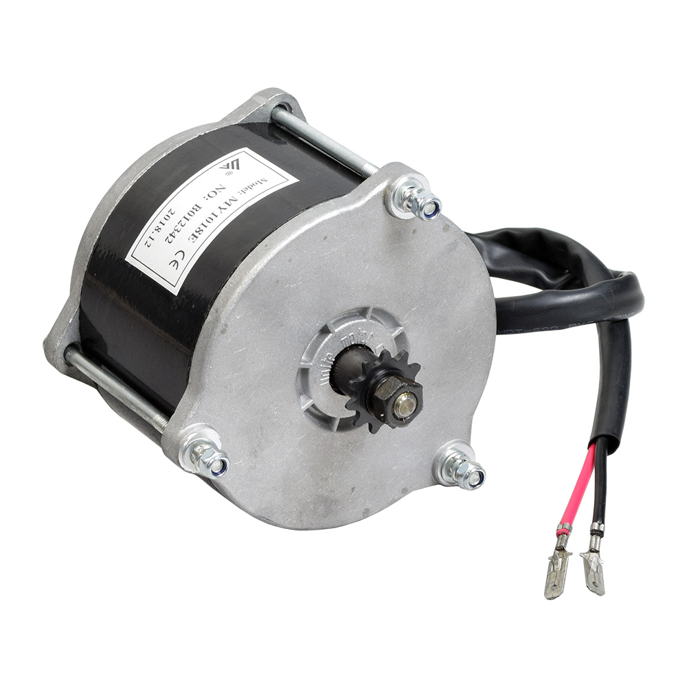 36 Volt 500 Watt Electric Motor with #25 Chain Sprocket for