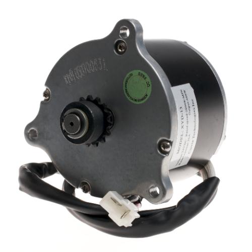 24 Volt 600 Watt High Performance Electric Motor with 15 Tooth #25 Chain Sprocket for GT, Mongoose, & Schwinn