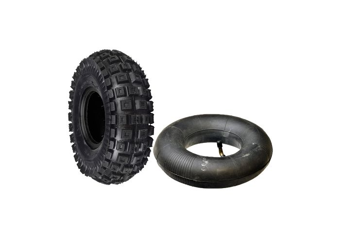 2pc 3.00-4 Tires 260x85 Knobby Electric Scooter ATV Go Kart Tire /& Tube 300x4