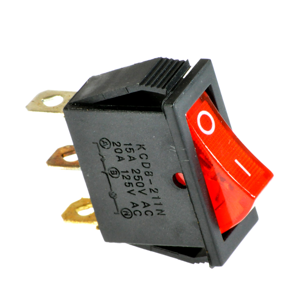 red on off switch with light indicator for dynacraft electric