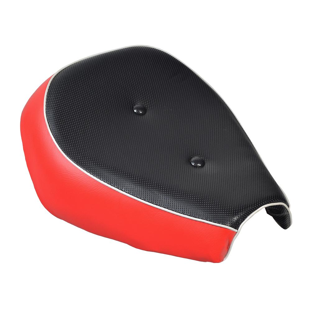 Baja Mini Bike Seat : Black red seat for the baja mb falcon mini bikes
