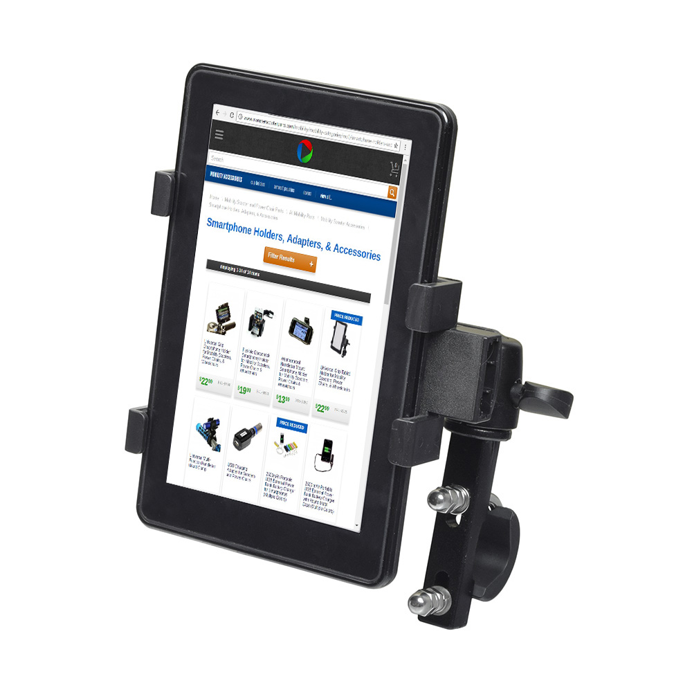 power chairs and scooters. Universal Grip Tablet Holder For Mobility Scooters, Power Chairs, \u0026 Wheelchairs Chairs And Scooters 2