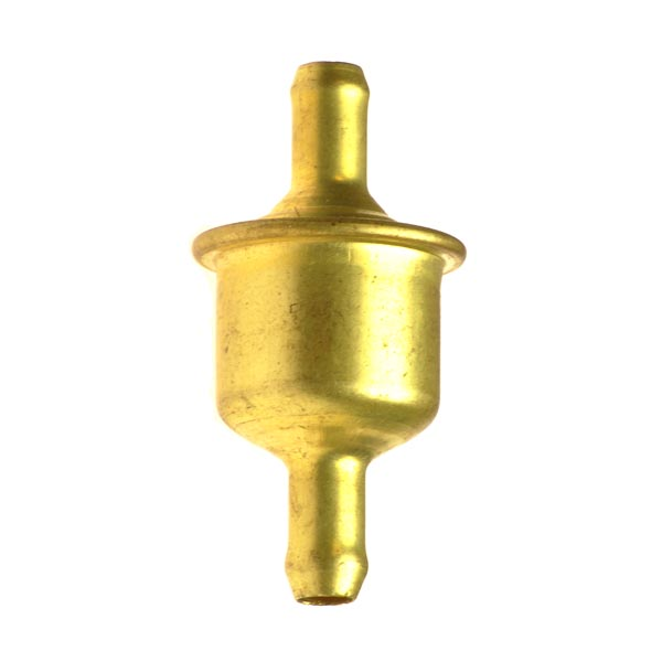 Universal In-Line Fuel Filter - Gold
