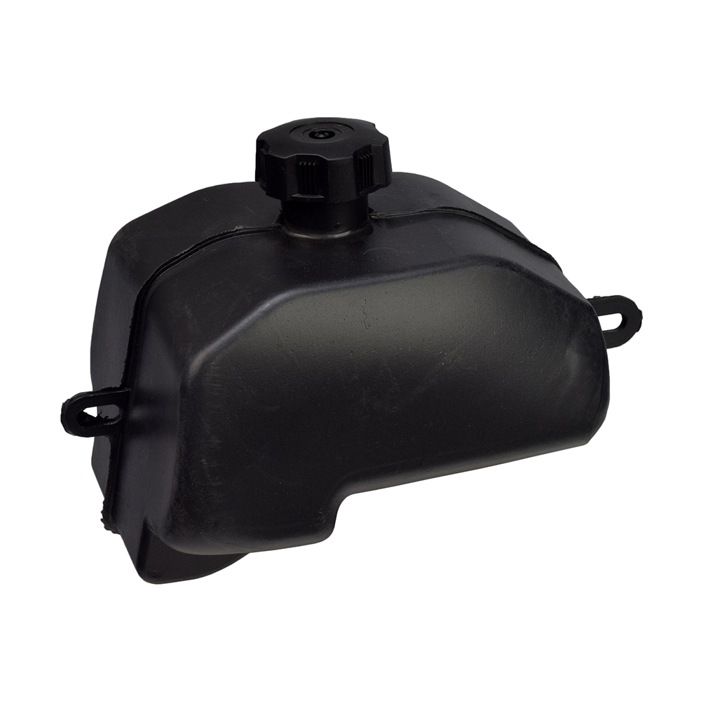 Black Gas Fuel Tank For  50 70 110 125 CC Chinese Hummer Mini Quad ATV