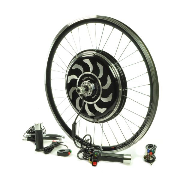 48 volt magic pie 2 electric bike conversion kit with 26 spoked rim rh monsterscooterparts com 3 Wire Fan Motor Wiring Diagram AC Motor Wiring Diagram