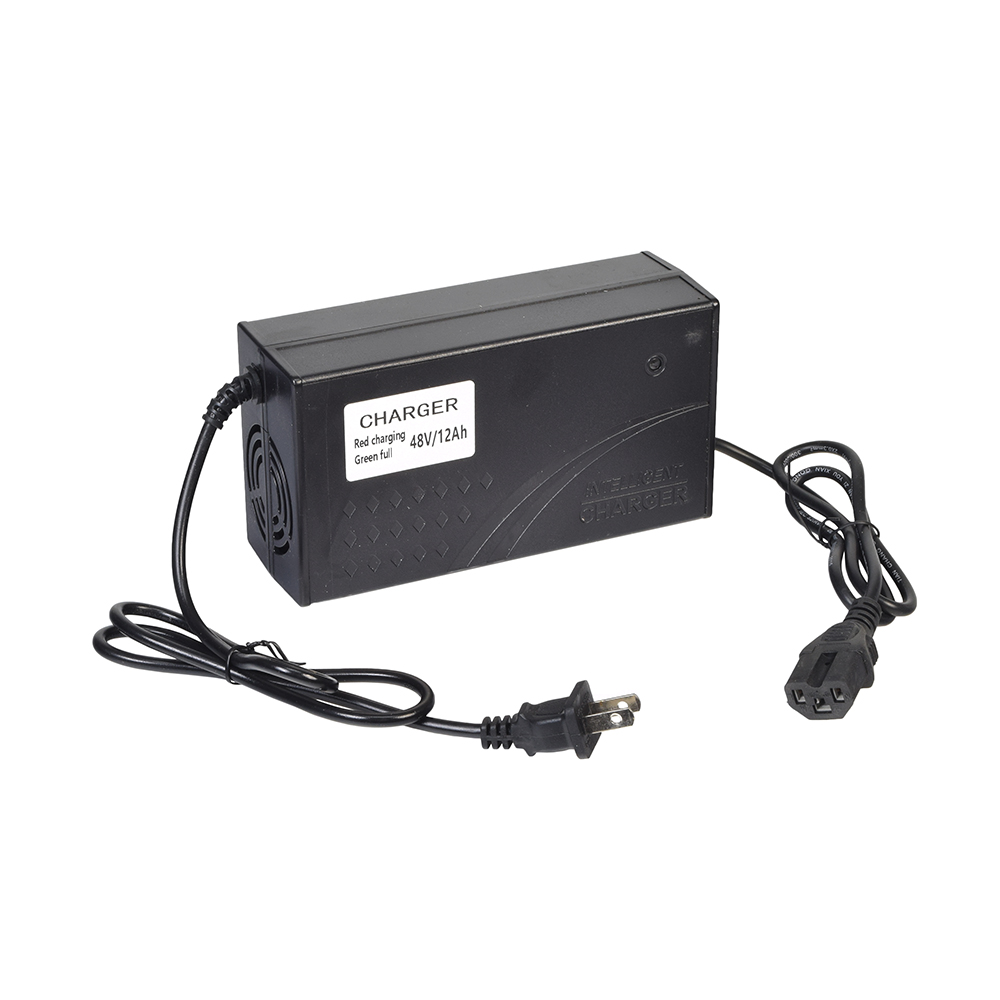 48 Volt 1.6 Amp 3-Pin Battery Charger for Electric Bikes (Standard)
