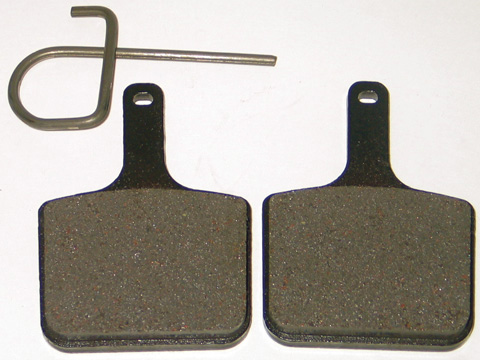 Metal Brake Pads for Polaris Snowmobiles (1998-2003) - Brakes for