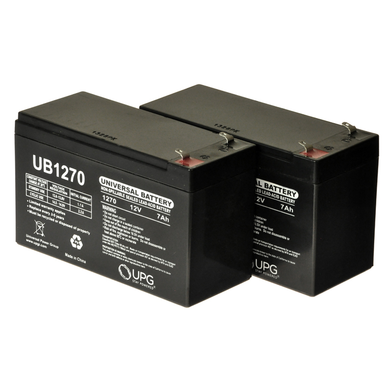 7 Ah 24 Volt Agm Battery Pack For The Monster Moto Mme 250