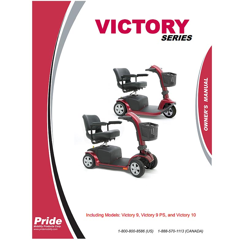 owner s manual for pride victory 9 and victory 10 pride victory 10 rh monsterscooterparts com pride victory 10 scooter service manual pride scooter victory 10 owner's manual