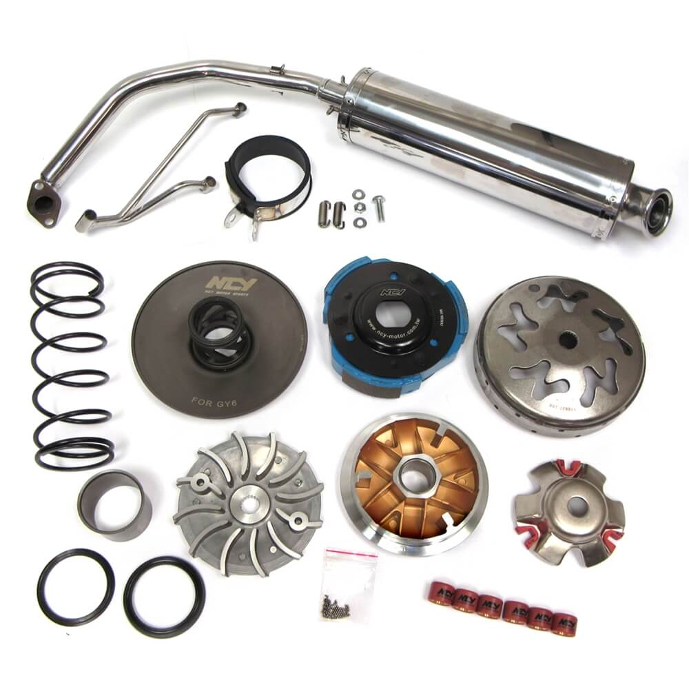 GY6 150 Stage 1 Performance Kit (NCY) : Monster Scooter Parts