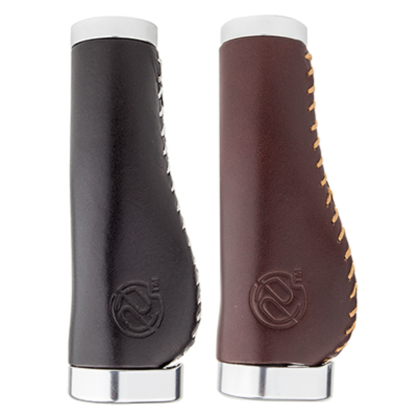 Whiskey Leather Handlebar Grips (Multiple Choices)