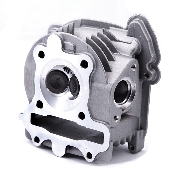 racing big valve cylinder head for gy6 qmb139 engines monster rh monsterscooterparts com Trailer Wiring Harness Engine Wiring Harness