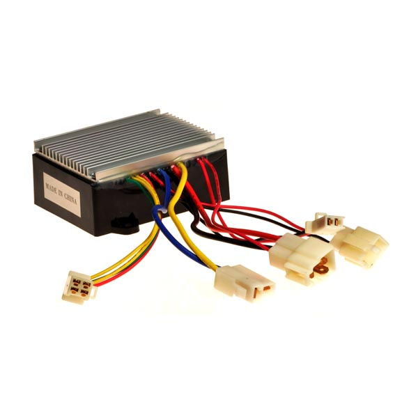ct-201k / hb2430dyc-fs / hb2430-dyc-rohs control module with 4-wire  throttle connector for razor mx350 (versions 9+) and mx400 (all versions)