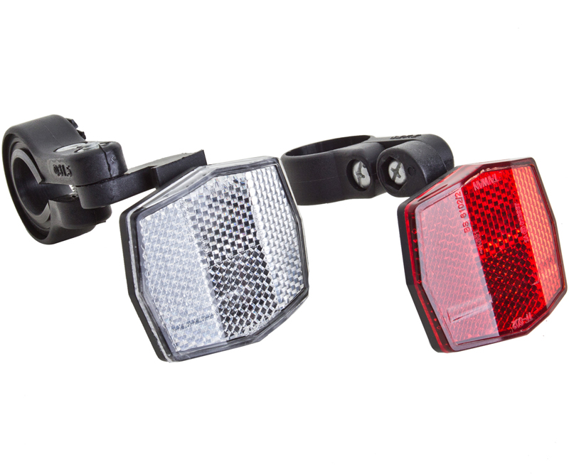 Reflector Bike Front with Bracket