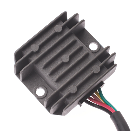5 pin 5 wire hk-d rectifier (voltage regulator) with female connector for  125cc-250cc gy6/qmb139 scooter engines