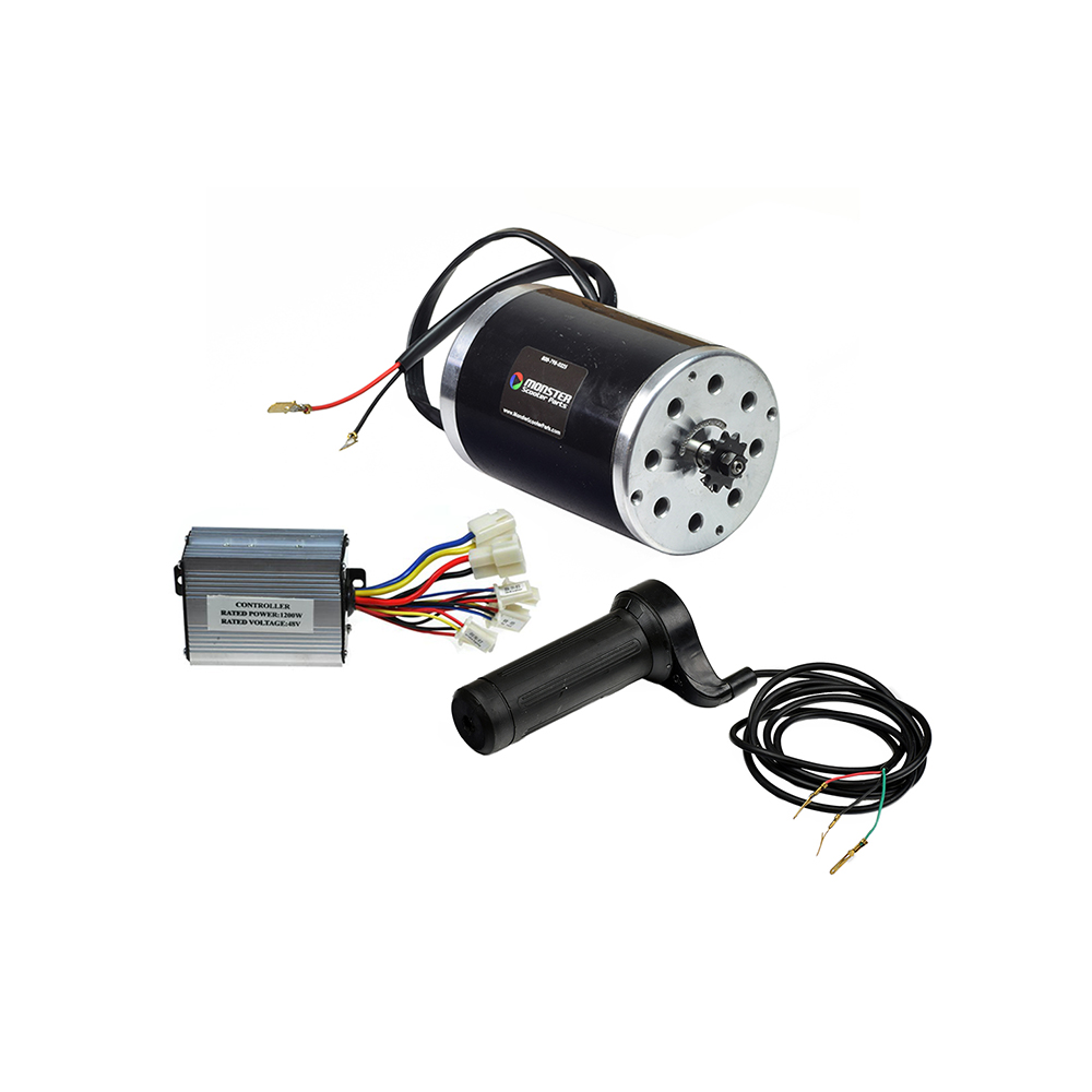 48 volt 1000 watt motor, controller, & throttle kit