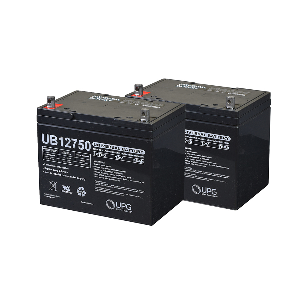 24 Volt Group 24 (75 Ah) Battery Pack for the Drive Medical