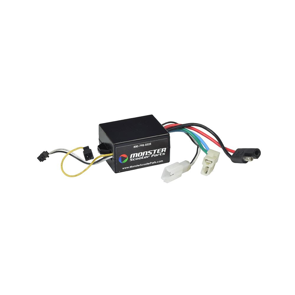 Buy Currie 24 Volt 5 Pin Twist Grip Throttle Controller Bundle For 6 Wiring Harness Scooter S1000 St1000 X1000 X1000kdz Z091668 C041171 T536118 X990669